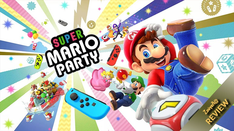 Super Mario Party - Review: Ιδανικό για παρέες