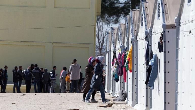 Ένταση στο κέντρο προσφύγων στα Διαβατά - Ένας τραυματίας