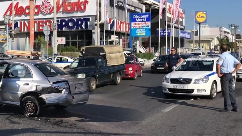 Καταδίωξη θρίλερ με πυροβολισμούς στη Θεσσαλονίκη