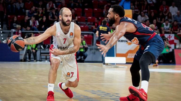 Δεύτερο «διπλό» στη Euroleague για τον Ολυμπιακό, 85-80 την Μπασκόνια