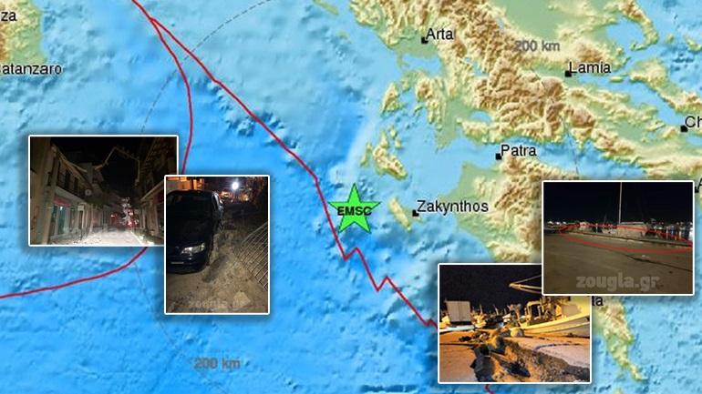 Ισχυρός σεισμός 6,4 Ρίχτερ στο Ιόνιο