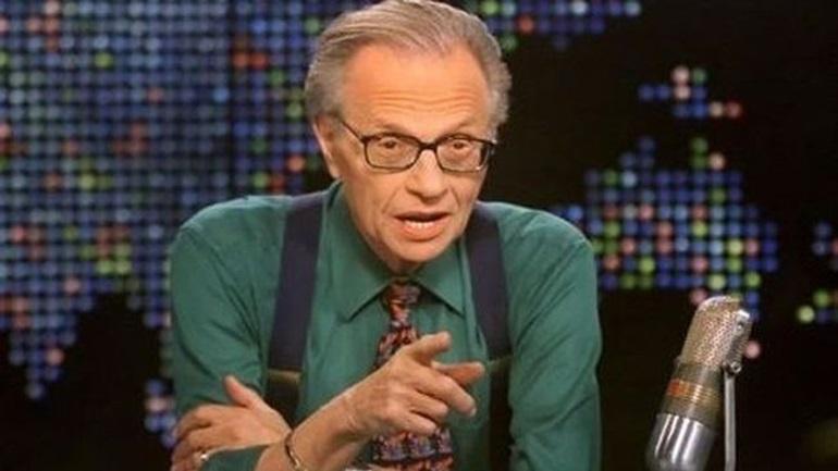Λάρι Κινγκ: Το RT είναι από τα λίγα κανάλια που δείχνουν ειδήσεις