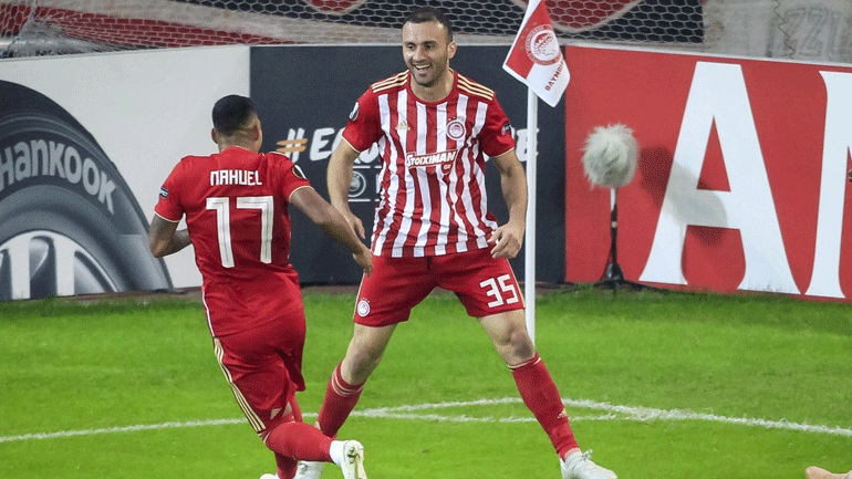 Olympiacos - Dudelange 5-1 (second half)