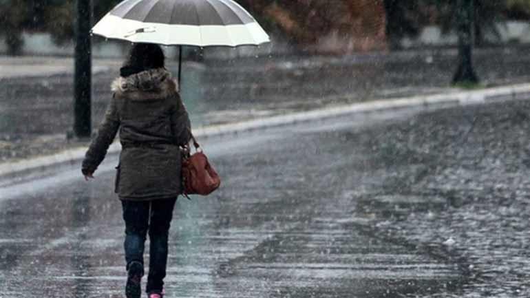 Tοπικές βροχές, καταιγίδες και πτώση της θερμοκρασίας