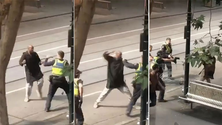 Μελβούρνη: Νεκρός ο δράστης της επίθεσης με μαχαίρι - Βρέθηκαν φιάλες αερίου στο όχημά του