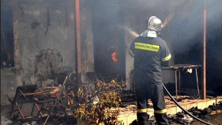 Dileysi: A woman killed by a fire in her house