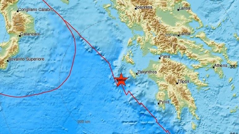 Seismic Float 4,2 R west of Zakynthos