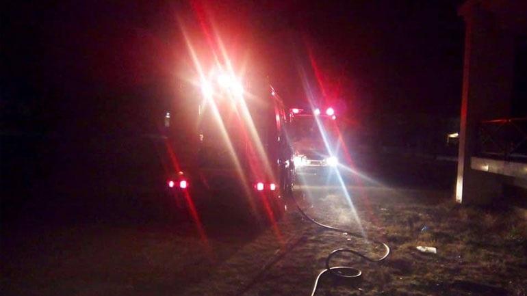 Πυρκαγιά στο Μπίλλειο Πολιτιστικό Κέντρο Λαγκαδά - Εμπρησμό καταγγέλλει ο δήμαρχος