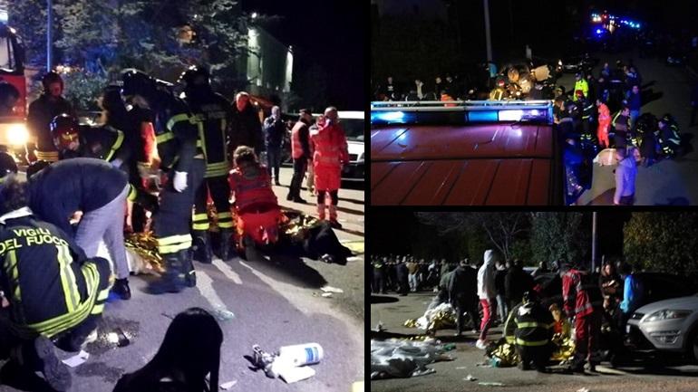 Ιταλία: Πανικός σε κλαμπ – 6 νεκροί, 120 τραυματίες