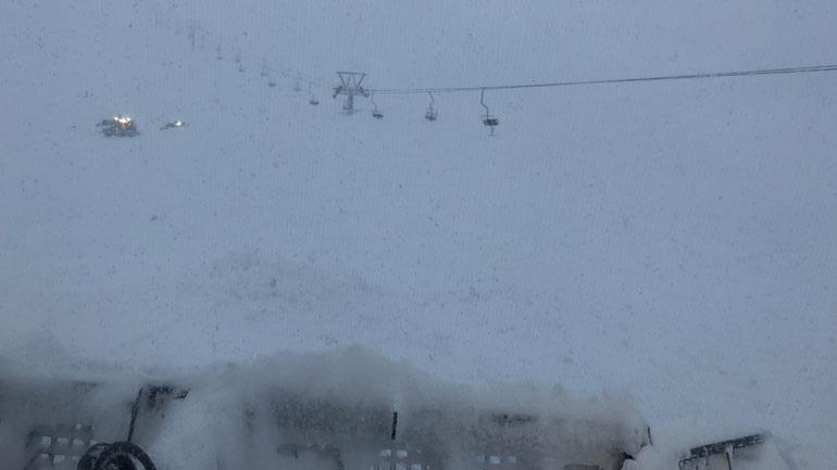 Χιονοστιβάδα στο Χιονοδρομικό Κέντρο Καλαβρύτων- Kατέστρεψε πυλώνα του αναβατήρα «Στύγα»