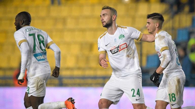 «Διπλό» ο Παναθηναϊκός, 1-0 τον Παναιτωλικό στο Αγρίνιο
