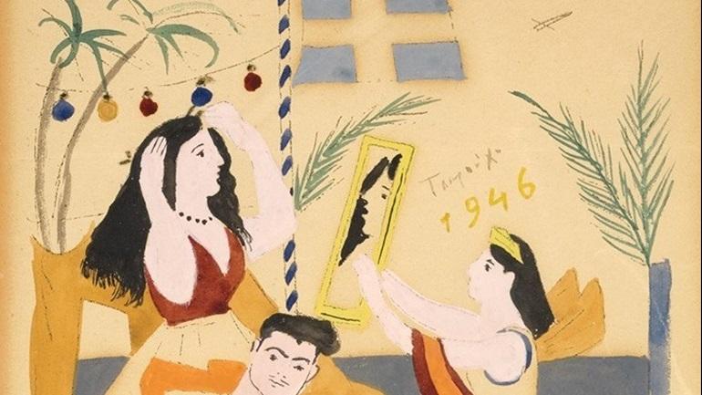 d079639656b Έκθεση έργων τέχνης με «έμπνευση» στίχους του Γ. Σεφέρη στο Τελλόγλειο