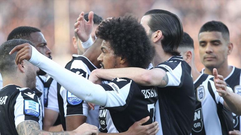Συνεχίζει ακάθεκτος για τον τίτλο ο ΠΑΟΚ, 3-0 τον Ατρόμητο