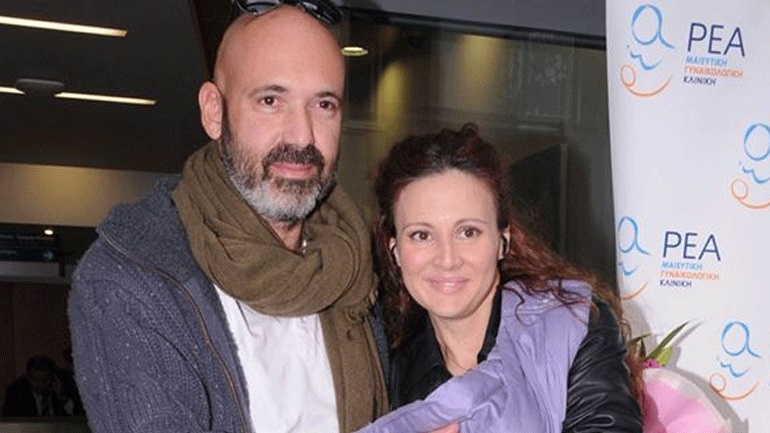 Angeliki Lambri & Antonis Angelopoulos: they separated after 14 years of love!