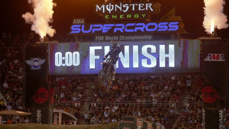 Supercross: Τα highlights από το Las Vegas