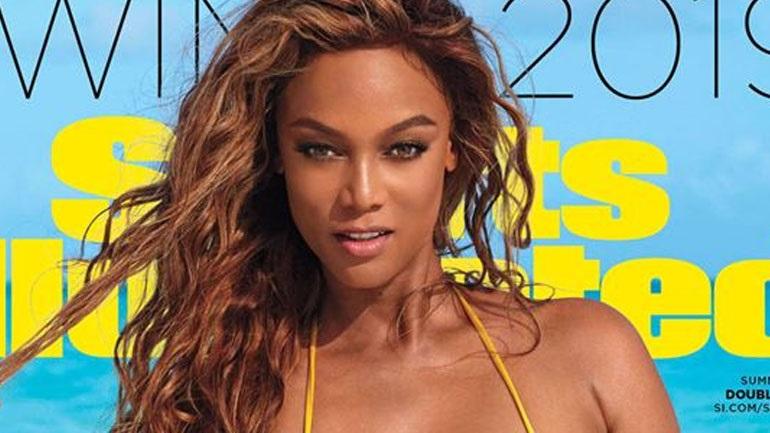 Η 45χρονη Tyra Banks ποζάρει στο εξώφυλλο του Sports Illustrated Swimsuit για τρίτη φορά!