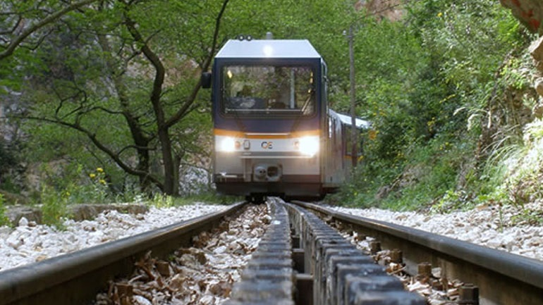 ΟΣΕ: Επανέναρξη δρομολογίων του οδοντωτού σιδηροδρόμου