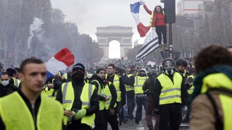 Νέα κινητοποίηση των «Κίτρινων Γιλέκων»στη Γαλλία