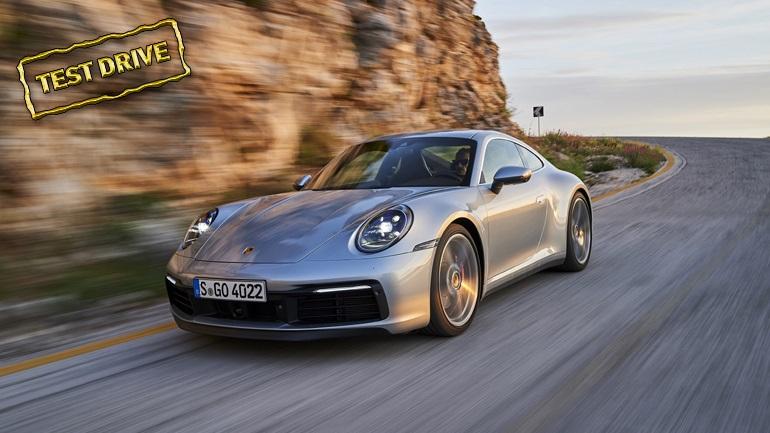Oδηγούμε την καινούργια Porsche 911