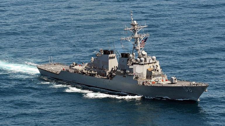 Iαπωνία: Ο Τραμπ ζήτησε να μείνει «εκτός του οπτικού του πεδίου» το USS John McCain