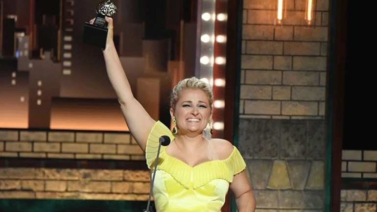 Ali Stroker makes Tony history as the first wheelchair