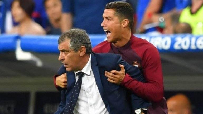 """Σάντος: «Ο Κριστιάνο Ρονάλντο με χτύπησε στην πλάτη και μου είπε """"γέρο κερδίσαμε""""»"""