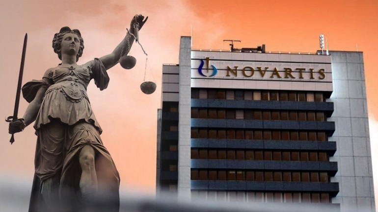 Novartis: Νέες διώξεις σε τέσσερα πρόσωπα