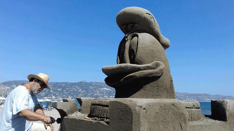 Γλυπτά στην άμμο - Το μοναδικό στην Ελλάδα φεστιβάλ επαγγελματικής γλυπτικής στην άμμο