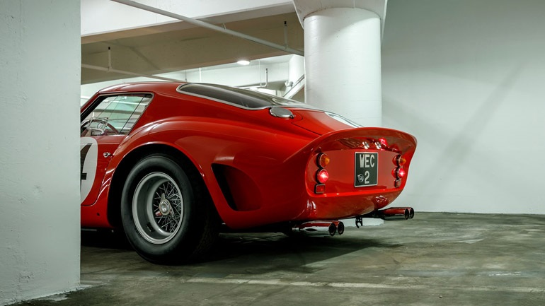 The court recognized the Ferrari 250 GTO as a work of art