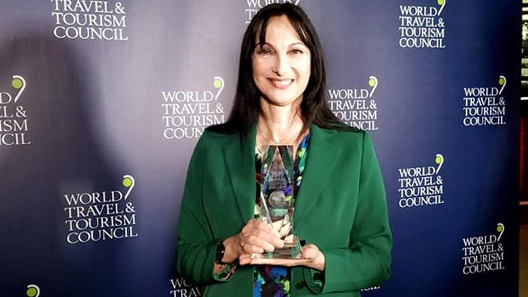 Συνεργασία του Παγκόσμιου Οργανισμού Ταξιδίων και Τουρισμού με την Έλενα Κουντουρά