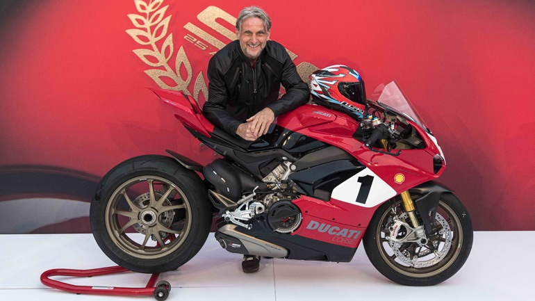 Ducati Panigale V4 25° Anniversario 916: Επετειακό και με όνομα βαρύ