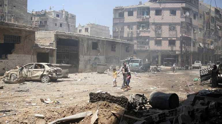 Συρία: 59 νεκροί κατά τις συνεχιζόμενες εχθροπραξίες