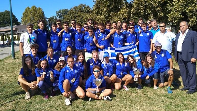 Κωπηλασία: Πρώτη θέση για την Ελλάδα στο Βαλκανικό Πρωτάθλημα με 20 μετάλλια