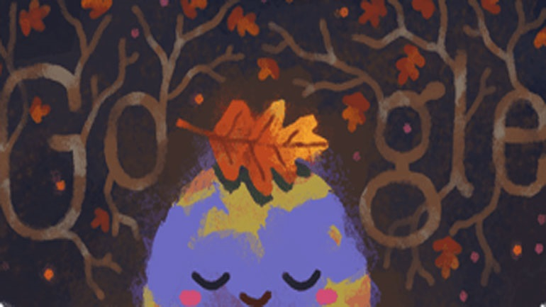 H Google εύχεται «Καλό Φθινόπωρο» με το doodle της