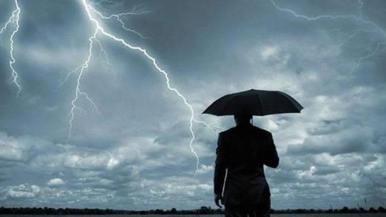 Έκτακτο δελτίο ΕΜΥ: Έρχεται κακοκαιρία με καταιγίδες, χαλάζι και ισχυρούς ανέμους