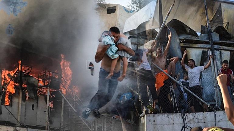 Τραγικές επιπτώσεις από την εξέγερση στη Μόρια