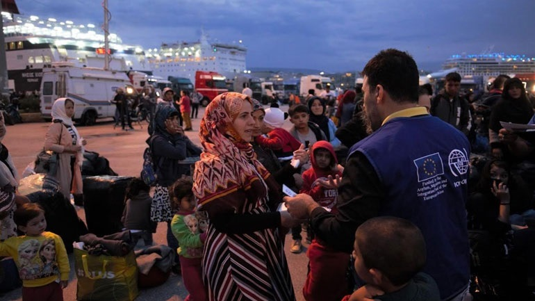 Στην Ελευσίνα 389 πρόσφυγες από τη Σύμη