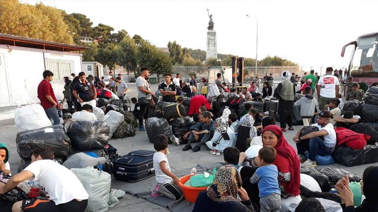 Μυτιλήνη: Συνέχεια στις αφίξεις προσφύγων μεταναστών στα νησιά του Β. Αιγαίου
