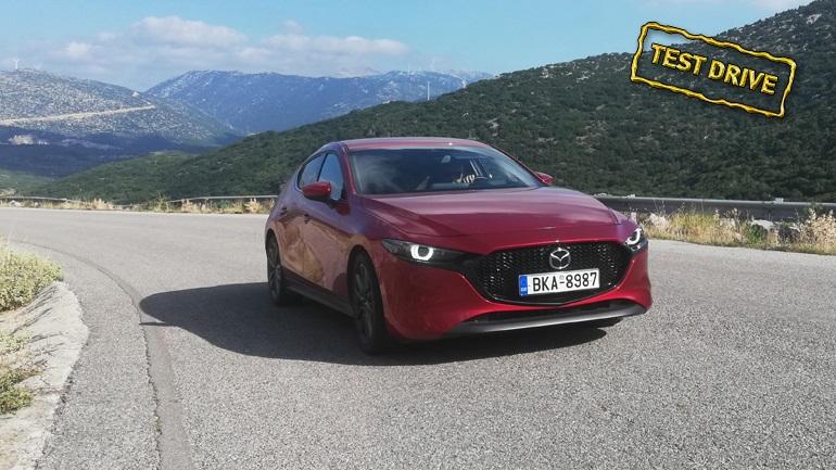 Mazda 3 Skyactive-G122: Ξυπνάει συναισθήματα