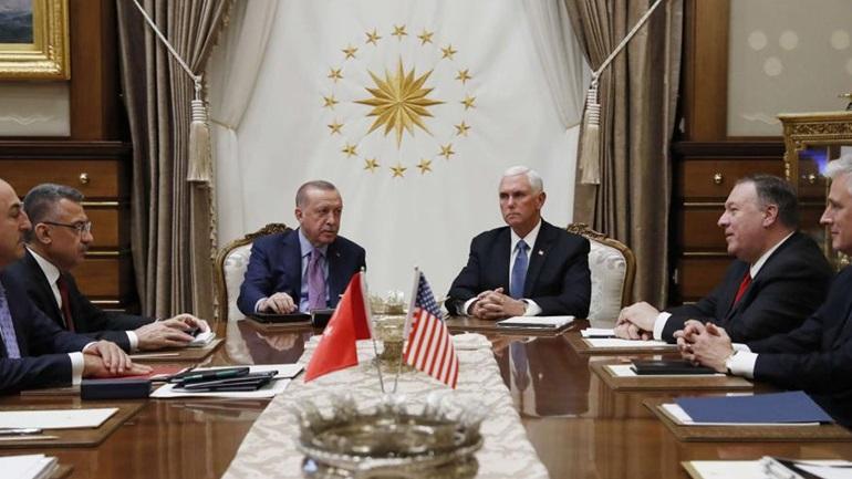 Τραμπ και Πούτιν ''στραγγάλισαν'' τον Ερντογάν