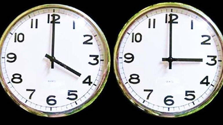 Άλλαξε η ώρα - Γυρίστε τα ρολόγια μια ώρα πίσω