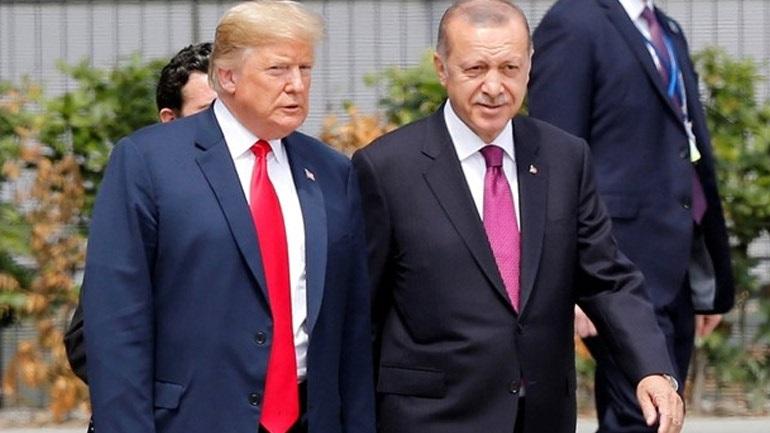 Ερντογάν: Θα συζητήσω την υπόθεση της Halkbank με τον Τραμπ