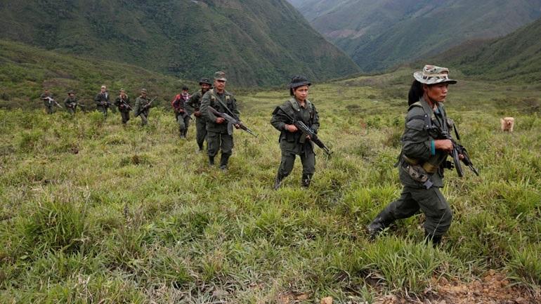 Επτά μέλη ένοπλων οργανώσεων σκοτώθηκαν σε συγκρούσεις στη δυτική Κολομβία