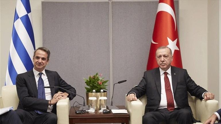 Ολοκληρώθηκε η συνάντηση Μητσοτάκη - Ερντογάν στο Λονδίνο