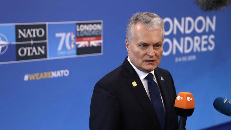Λιθουανία: Η Άγκυρα δεν προέβαλε απαιτήσεις για να στηρίξει το αμυντικό σχέδιο του ΝΑΤΟ