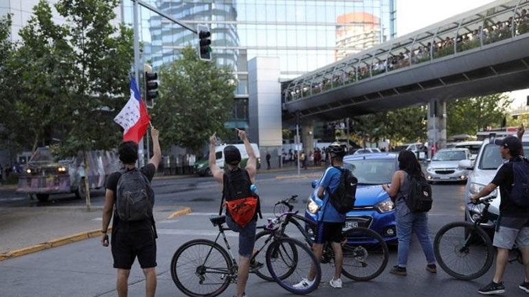 Η κρίση αύξησε τη χρήση ποδηλάτων στη Χιλή