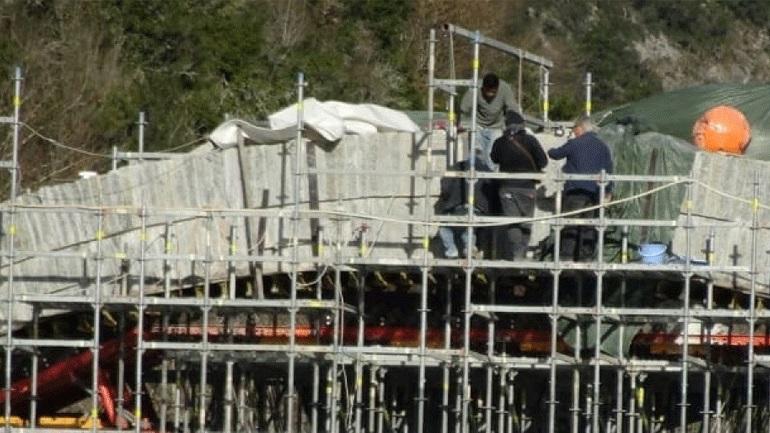 Ιωάννινα: Όρθιο και πάλι το γεφύρι της Πλάκας - Τοποθετήθηκε ο κλειδόλιθος
