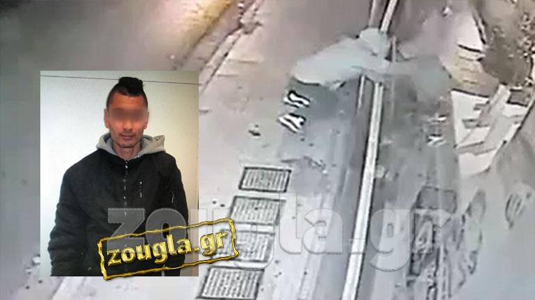 Αυτός είναι ο δράστης που άνοιξε 16 καταστήματα στον Κορυδαλλό - Video-ντοκουμέντο