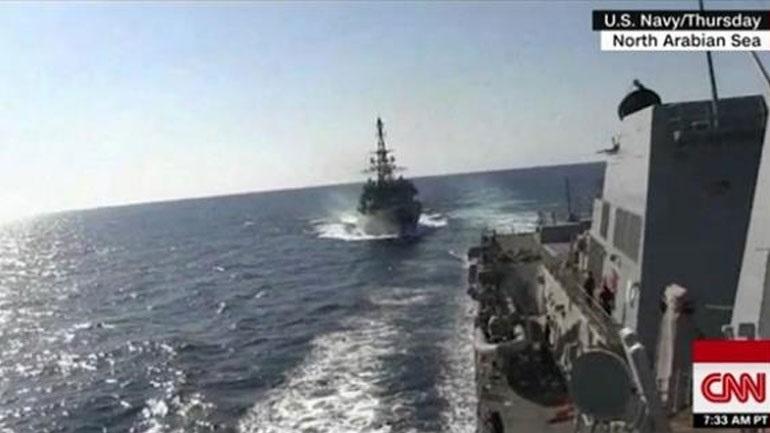 «Θερμό» επεισόδιο στην Αραβική Θάλασσα μεταξύ αμερικανικών και ρωσικών πολεμικών πλοίων