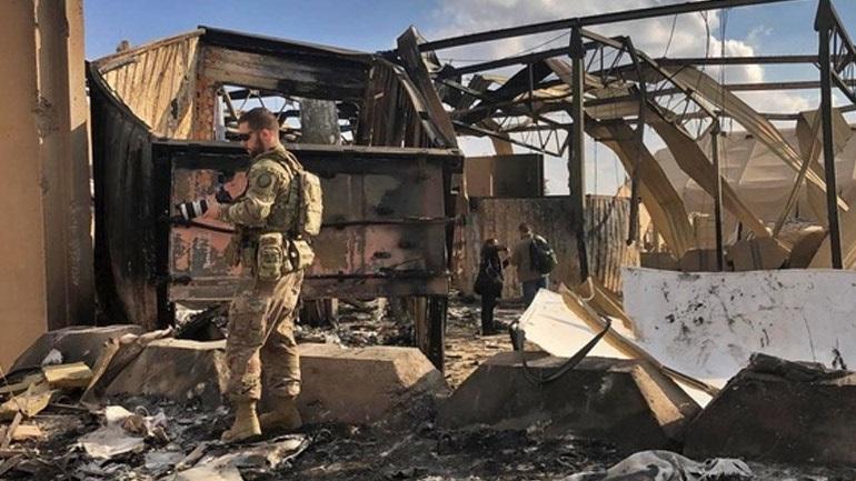 ΗΠΑ: Έντεκα στελέχη των ενόπλων δυνάμεων παρουσίασαν συμπτώματα διάσεισης μετά την ιρανική επίθεση στο Ιράκ